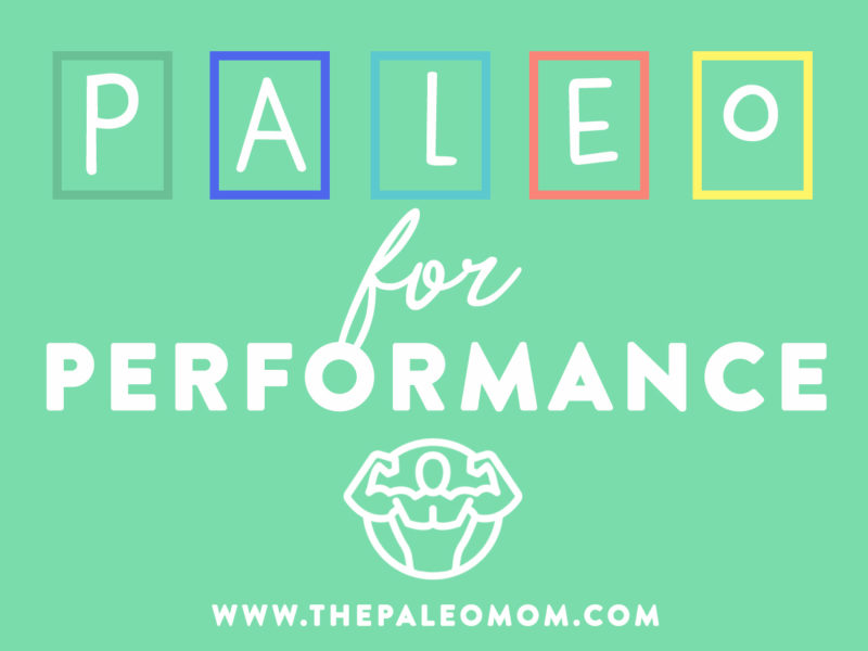 paleo for performance