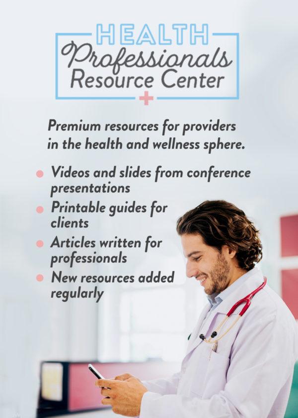 health professionals resource center