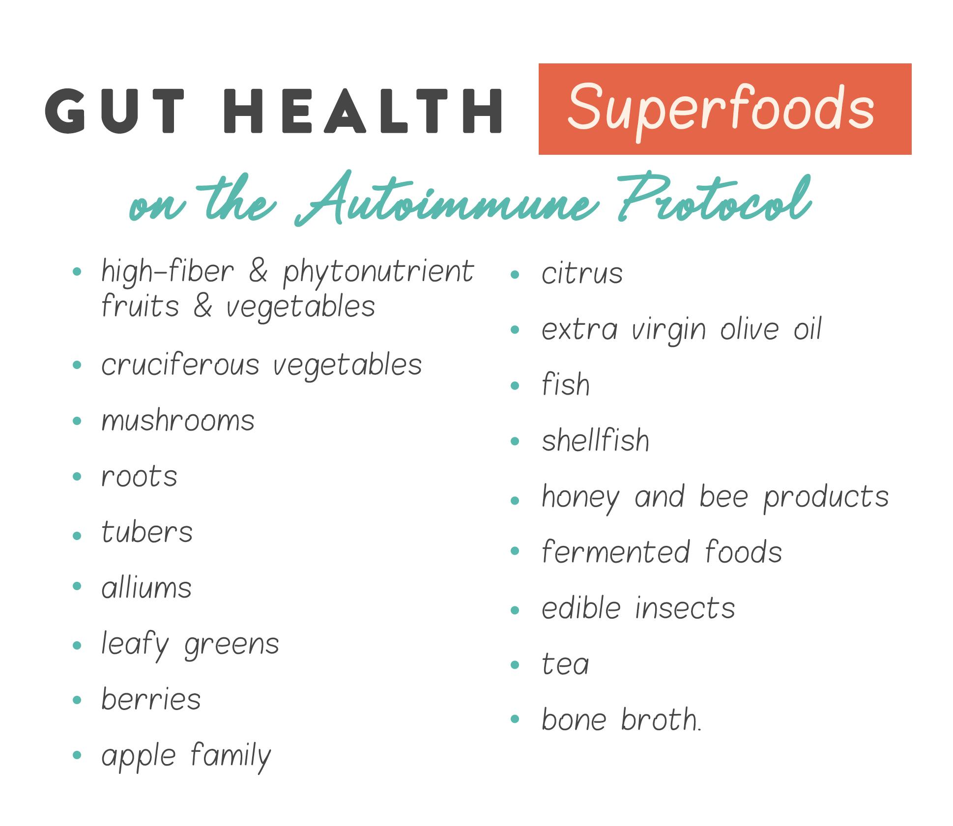 gut health super foods