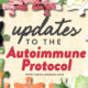 update to the autoimmune protocol