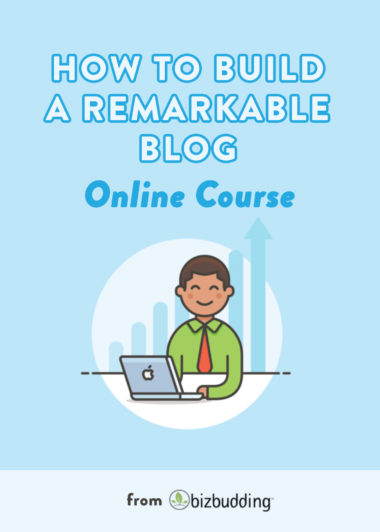 How to build a remarkable blog course icon