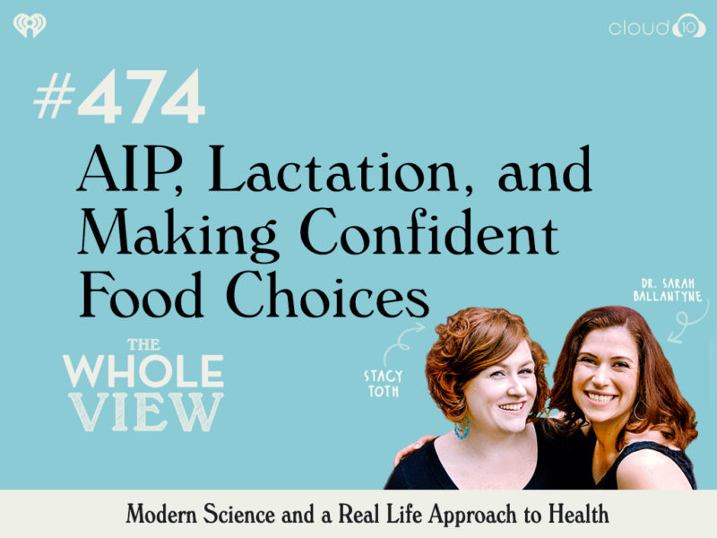 AIP lactation and Making confident food choices